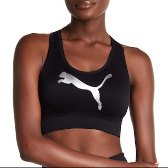 94d1698e776c4 Puma Women s Low Support Sports Bra Sz  M
